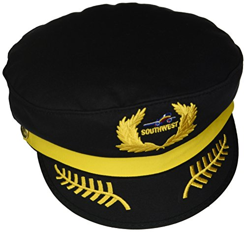 Airlines Southwest - Daron Southwest Airlines Pilot Hat