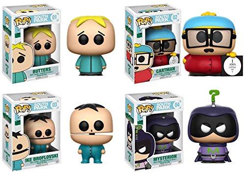 funko-pop-south-park-butters-cartman-piggy-ike-broflovski-mysterion-vinyl-figure-set-new