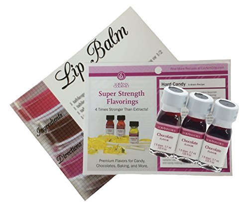 All Natural Lip Balm Flavor Oils - 4