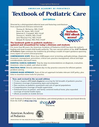 American Academy of Pediatrics Textbook of Pediatric Care - medicalbooks.filipinodoctors.org