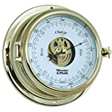 Weems and Plath Endurance II 135 Open Dial Barometer, Brass