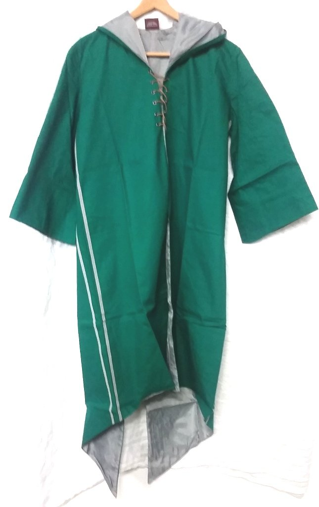 Harry Potter Quidditch Slytherin Robe Habber & Dasher Discontinued SIZE - ADULT XL