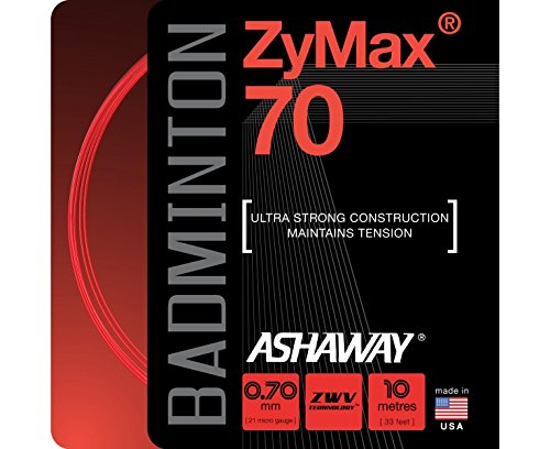 ASHAWAY Zymax 70 Badminton String Set