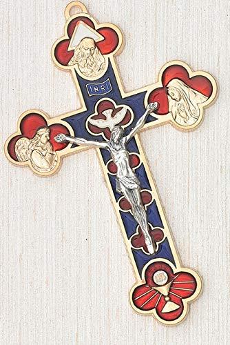 LMM001 5 Inch Double Trinity Holy Spirit Cross