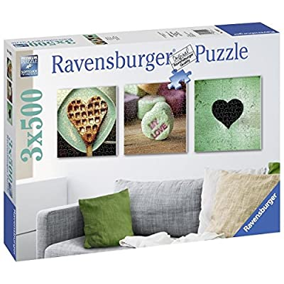 Ravensburger Italy Puzzle 3x500 Pezzi 19921