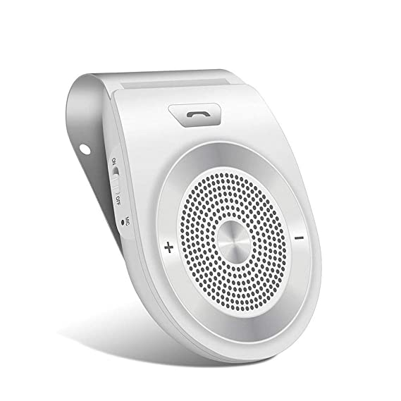 8ba974e71ef7 Amazon.com: Bluetooth in Car Speakerphone Motion AUTO ON Wireless Speaker  for Handsfree Talking/Music Streaming with Car Charger & Clip for All  Smartphone, ...