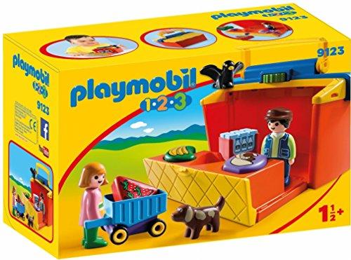 - PLAYMOBIL® Take Along Market Stall Building Set
