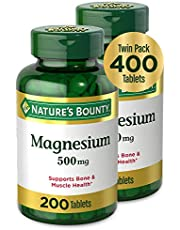 Nature's Bounty Magnesium by Nature's Bounty,