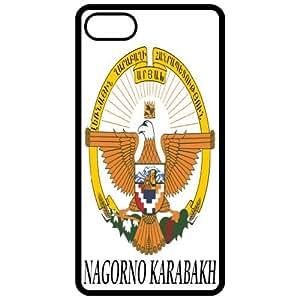 Nagorno Karabakh - Coat Of Arms Flag Emblem Black Apple Iphone 5 Cell Phone Case - Cover