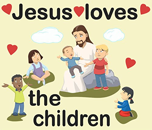 Create-A-Mural Jesus Loves Kids Wall Decals]()