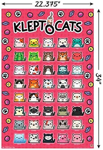 Standard 4 Sheet Trends International KleptoCats