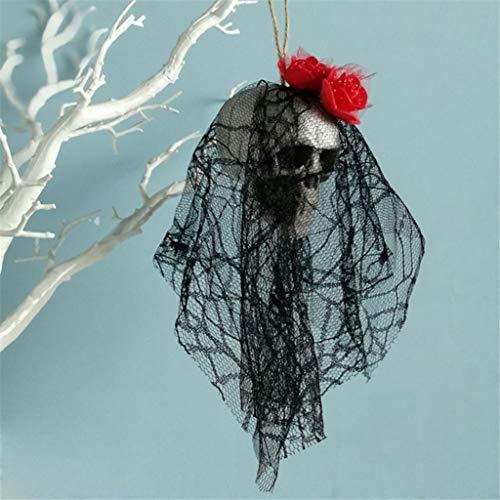 YOYORI Halloween Skull Decoration, Hanging Decor Pirates Corpse