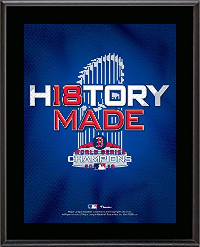 - Sports Memorabilia Boston Red Sox 2018 MLB World Series Champions 10.5