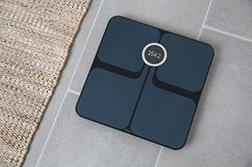 Fitbit Aria 2 Wi-Fi Smart Scale, Black