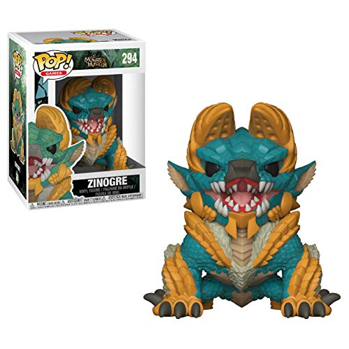 Funko Pop!- Games Monster Hunters Zinogre Figura de Vinilo (27341)