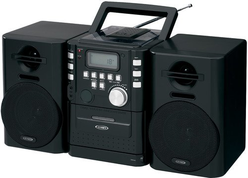 JENSEN Micro Hi-Fi System 4 W RMS iPod Supported CD-725