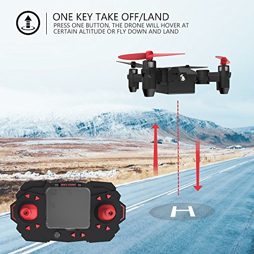 Holy-Stone-HS190-Foldable-Mini-Nano-RC-Drone-for-Kids-Gift-Portable-Pocket-Quadcopter-with-Altitude-Hold-3D-Flips-and-Headless-Mode-Easy-to-Fly-for-Beginners