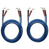 KK ZB-ZB 1pair set(Total 8 pin Plug) HIFI OFC Speaker Wire, Pin Type Plug to Pin Type Plug 1.5M(4.92ft)/3M(9.84ft)/5M(16ft), KK ZB-ZB (1.5M(4.92ft))