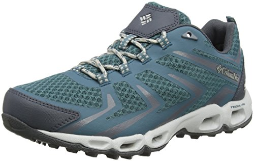 Silver Waterproof Low Multi Ventrailia Women's Rim Columbia Outdry Blue Grey Shoes Pacific 3 Sport 7F44wq