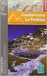 Guadarrama-La Pedriza. 2 mapas excursionistas. Escala 1:25.000. Editorial Alpina. Español, Française, English. (CARPETA ALPINA - 1/25.000)