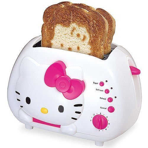 Hello Kitty Toaster by Spectra Merchandisin by Spectra Merchandisin 1011245