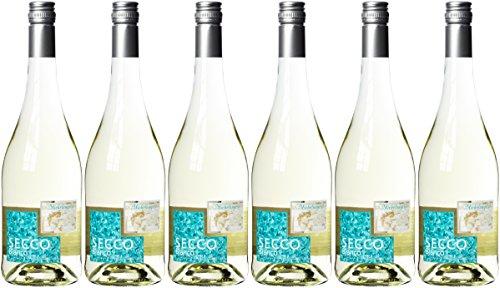 Michelangelo Secco Bianco Vino Frizzante (6 x 0.75 l)