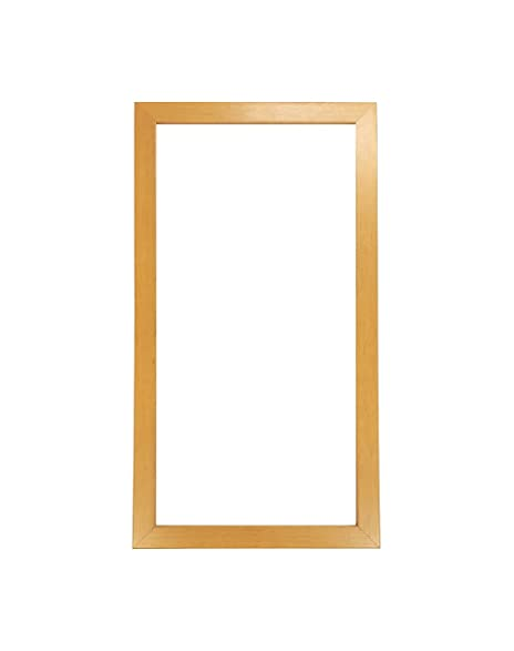 amazon com 12x24 blonde wood picture poster frame 12 by 24 frame