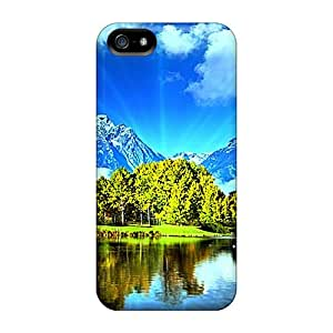 Sanp On Case Cover Protector For Iphone 5/5s (the Three Natures)