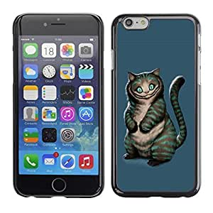 Andre-case AMAZING-BASE Smartphone Funny Back Image Picture case cover protective zqlkxQbyvwa Black Edge for Apple Iphone 5s - Evil Cat