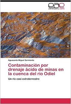 Book Contaminación por drenaje ácido de minas en la cuenca del río Odiel: Un río casi extraterrestre (Spanish Edition)