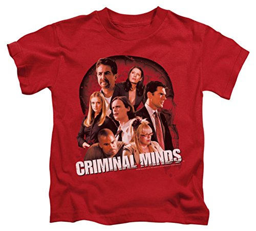 Price comparison product image Juvenile: Criminal Minds - Brain Trust Kids T-Shirt Size 7