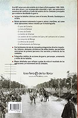 Grandes Batallas De La Guerra Civil Española. 1936-1939 Historia ...