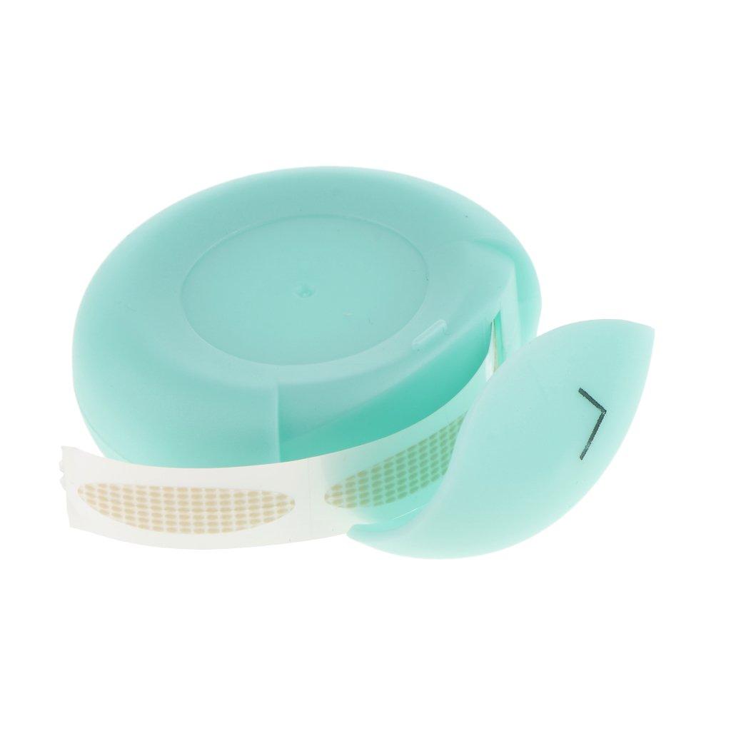 Sharplace 300 Pairs Hautfarbe Augenlid Tapes Eyelid Sticker Schlupflider Stripes, L/S Größe Auswahl - Orangen S
