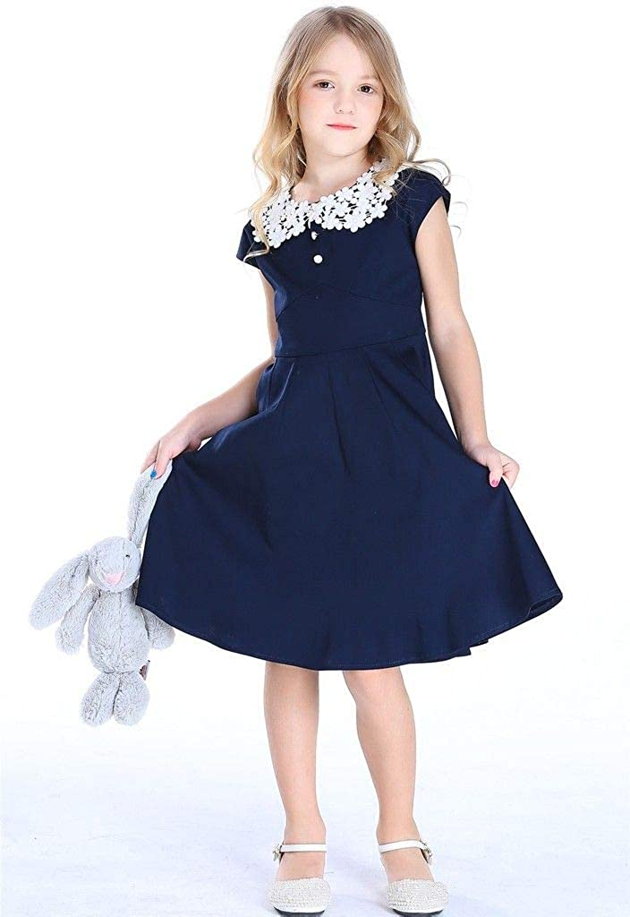 Kids 1950s Clothing & Costumes: Girls, Boys, Toddlers Bow Dream Girl Dresses 1950s Vintage Party  AT vintagedancer.com