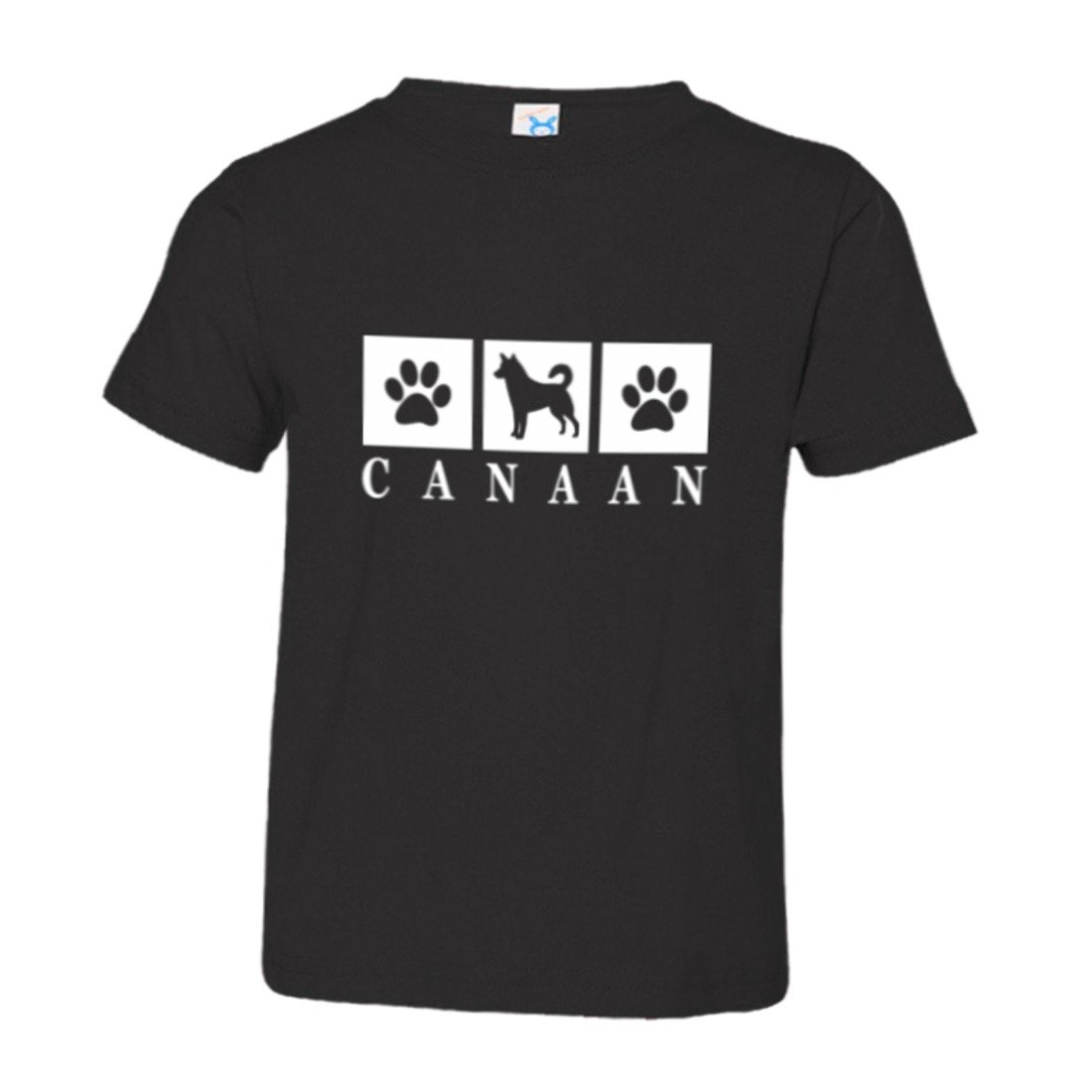Toddler Canaan Paws I Love My Dog Cat Lover Puppy HQ Tee Shirt