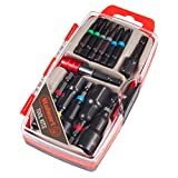 Trademark Global Stalwart Power Bit and SAE Nut Driver Set 13 PC