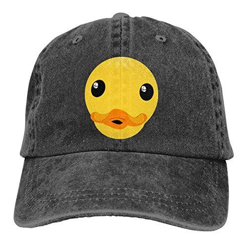 Clipart Duck Face Sunscreen Ponytail Baseball Hat for Men and Women