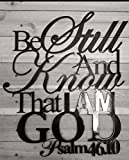 Psalm 46:10 scripture Wall decor