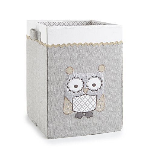 Levtex Home Baby Night Owl Hamper, Taupe by Levtex Home