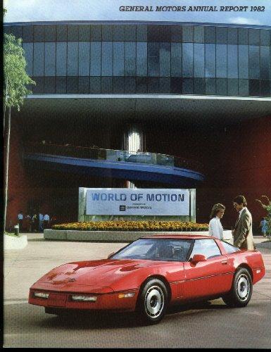 General Motors Annual Report 1982 Corvette Seville Electra Park Avenue + (Seville Motor)