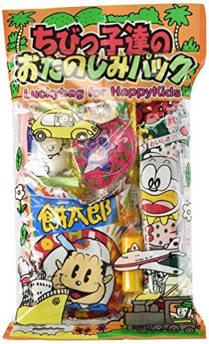 Japanese snack sweets Children of Fun Pack Assortment Dagashi Oyatsu