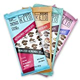 Kiss My Keto Low Carb Keto Dark Chocolate Keto Snack, (4 Pack) A Perfect Sweet Treat with MCT Oil for Ketogenic Diet Support Sugar-Free, Keto Friendly Foods - No Artificial Ingredients Larger Image