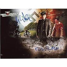 Martin Wuttke & Christoph Waltz INGLOURIOUS BASTERDS autograph, IP signed photo