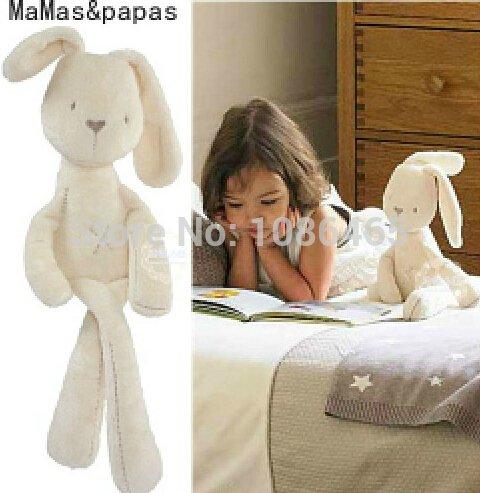 New Mamas /& Papas Millie /& Boris Soft Rabbit Sleep Appease doll plush Toys