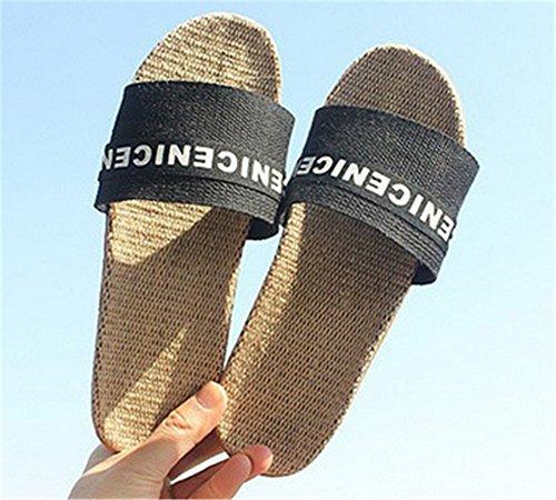 Tellw Color Sólido Terciopelo Coral Engrosamiento Cálido Piso De Madera Zapatillas De Invierno Y Zapatillas Para Mujeres Y Hombres De Algodón Al Aire Libre