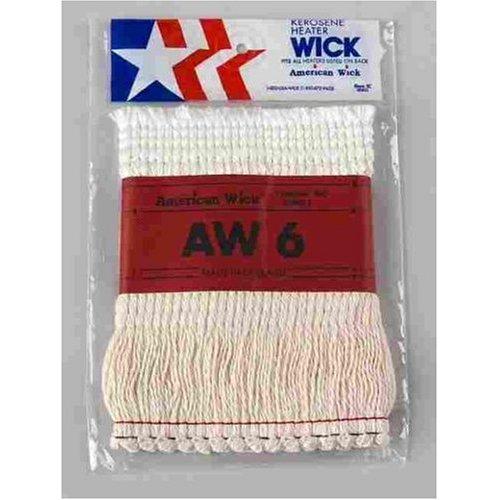 WICK KEROSENE HEAT AW6 by AMERICAN WICK MfrPartNo AW-6 ()