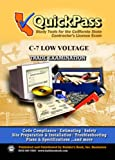 QuickPass Study Tools for the C-7 Low Voltage Systems License Examination - CD-ROM