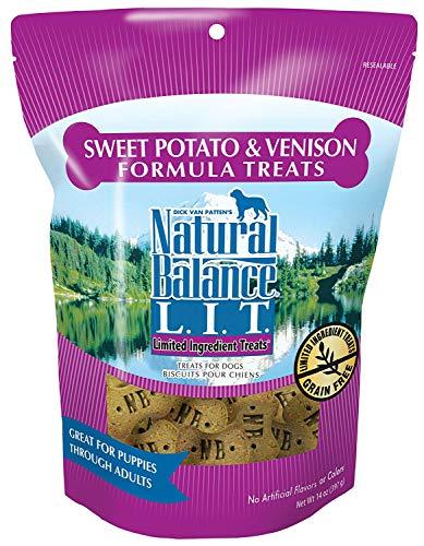 Natural Balance L.I.T. Limited Ingredient Treats Sweet Potato & Venison - 14-ounce (Pack of 2) (Dog Lit)