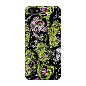 Iphone High Quality Tpu Cases/ Monster Face Pdi3018azgF Cases Covers For Iphone 5/5s