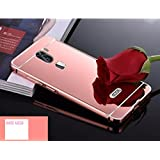D-kandy Luxury Metal Bumper + Acrylic Mirror Back Cover Case For COOLPAD COOL 1 - ROSE GOLD